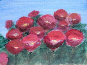 Czerwone kwiaty