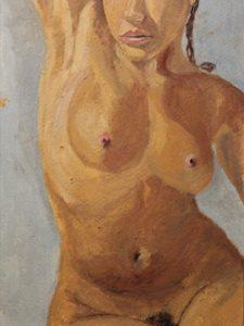 Kobiece ciało obraz olejny