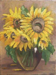 słoneczniki obraz olejny