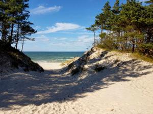 Kociokwik_Słowiński Park Narodowy 11 - wyjście na plażę