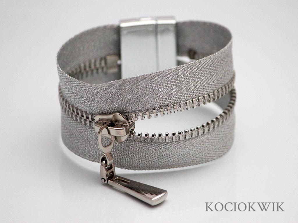 bransoletka zamkowa srebro